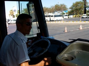 Автобус в Адам и Ева